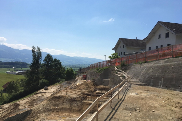 "Bau Update: Neubau ""Weitblick"" in Kaltbrunn"